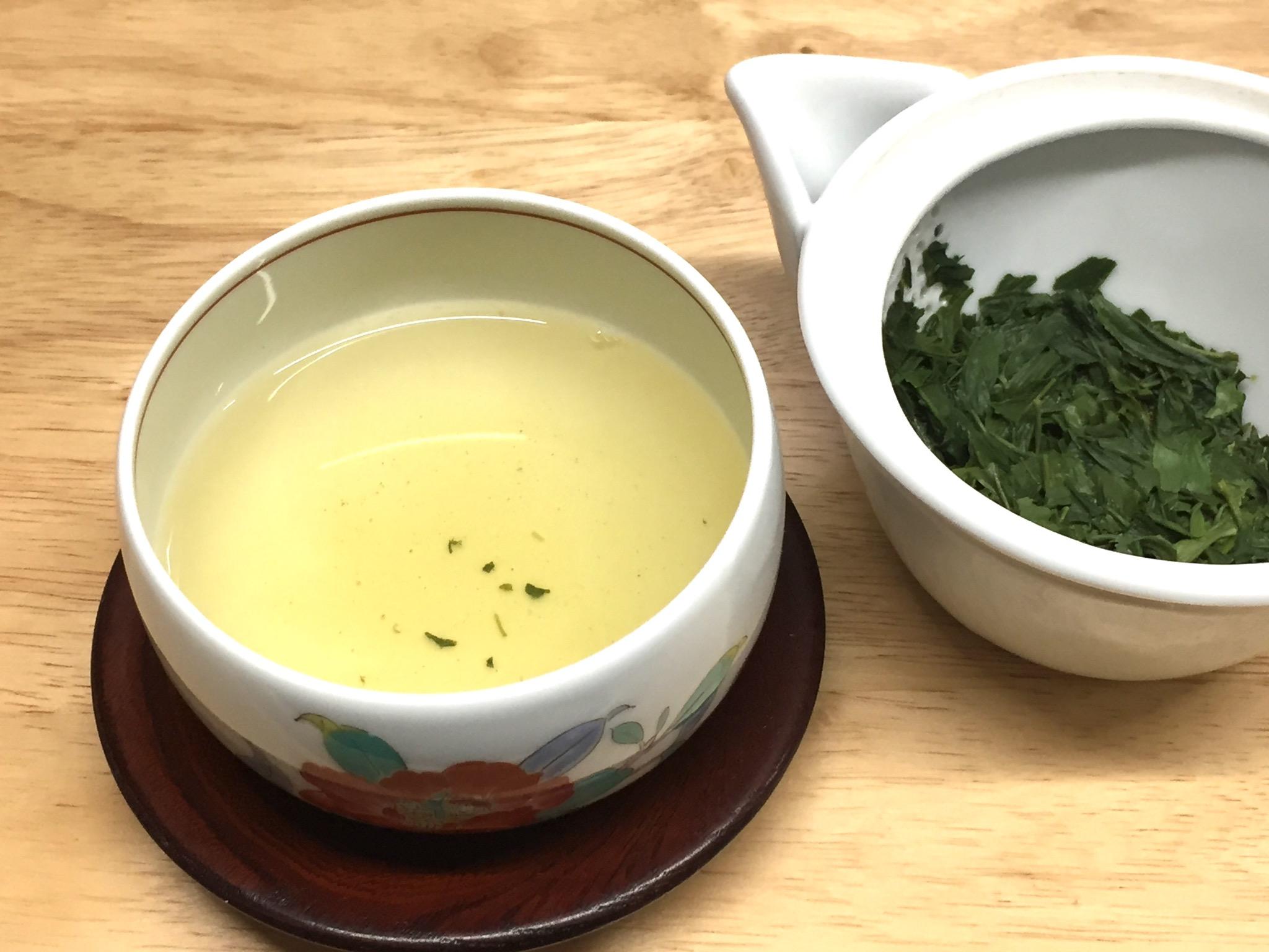 煎茶の美味しい淹れ方