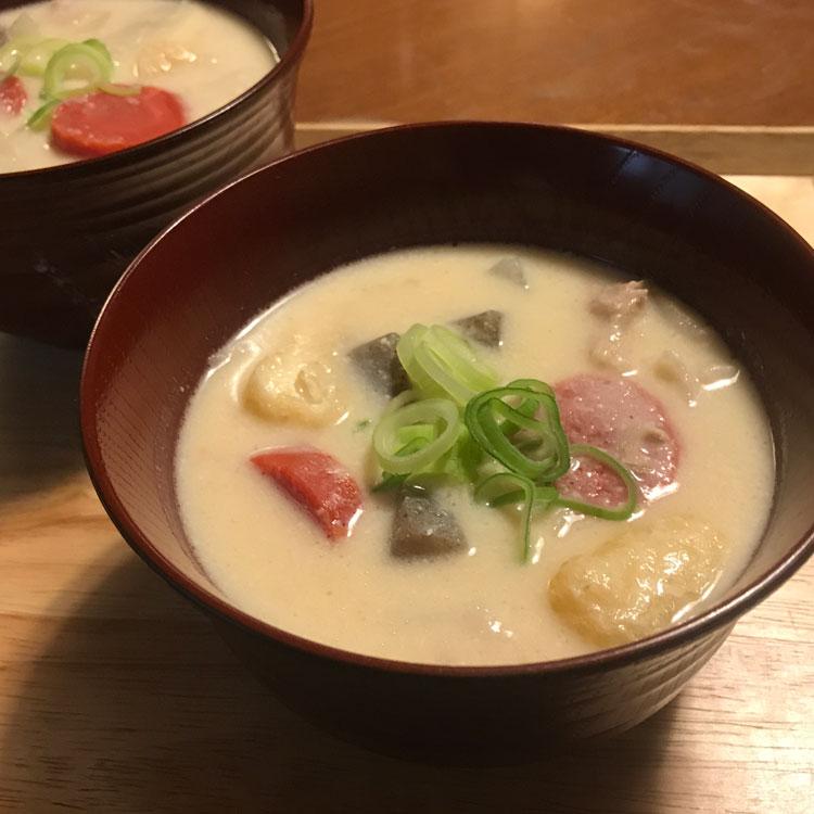 京都風かす汁のレシピ