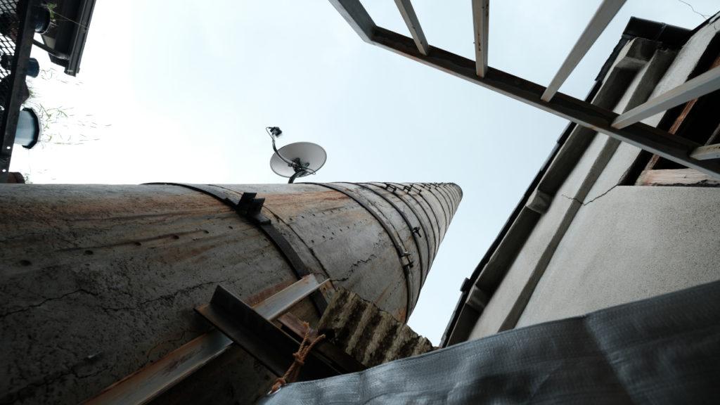 鴨川湯の煙突
